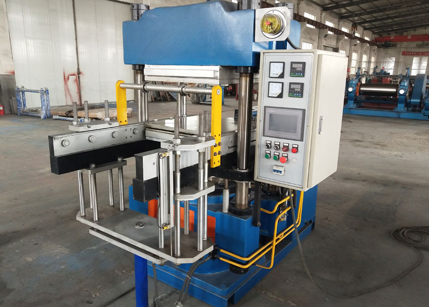 Full Automatic Duplex Rubber Vulcanizing Press Machine