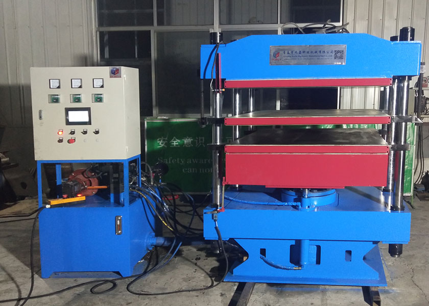 Full Automatic Rubber Plate Vulcanizing Press Machine