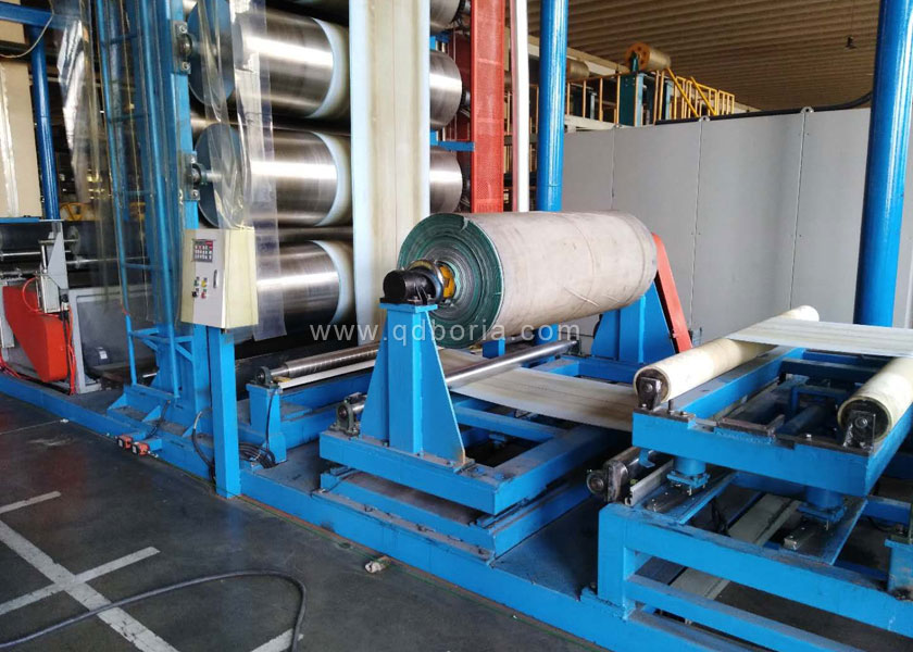 Drying pad finishing machine