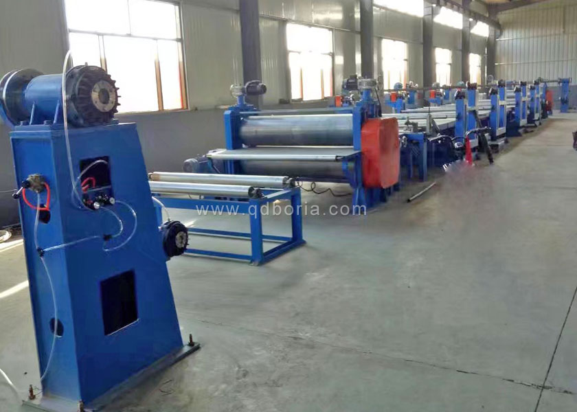 Automatic belt billet forming machine