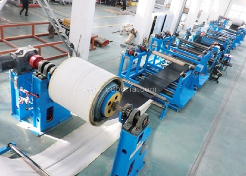 Conveyor Belt Forming Machine