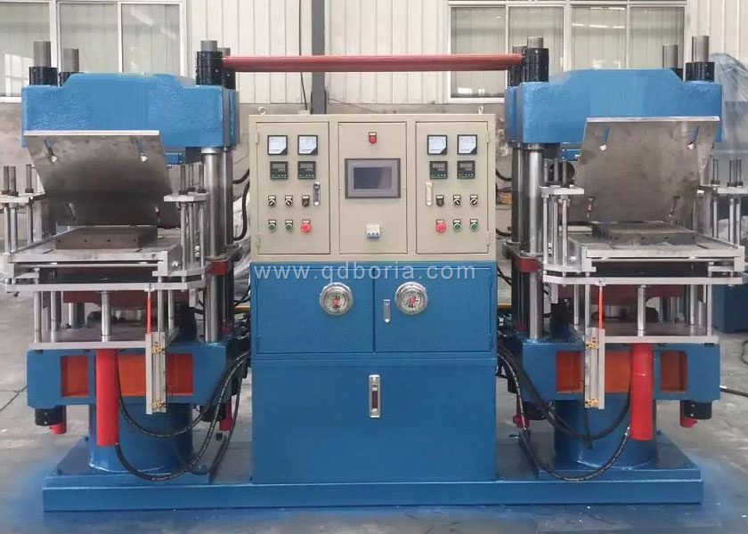 4 Column Type Automatic Duplex Rubber Vulcanizing Press