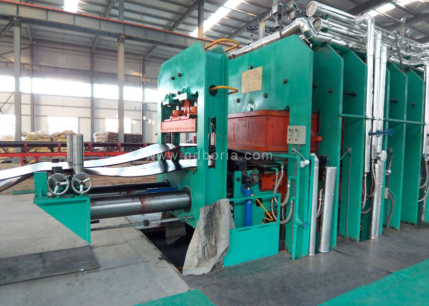 Conveyor Belt Curing Machine