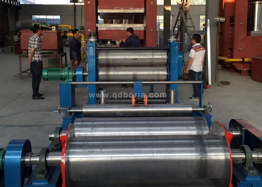 Vulcanizer Rubber Plate Vulcanizing Press Machine