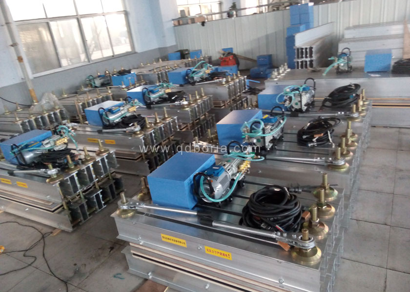 Rubber Conveyor Belt Splicing Vulcanizing Press Machine